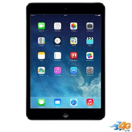 Apple - iPad Mini 2 16GB Wi-Fi +Cellular Space Grey ME800TY/A