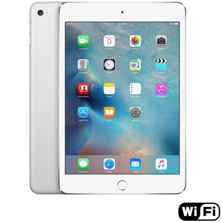 Apple - iPad Mini 4 Wi-Fi 128GB Silver