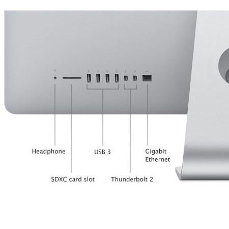 "Apple Display IPS Retina 5K da 27"" ultrasottile, 5120x2880px - iMac 27 Retina 5K i5 Mk462t/a"