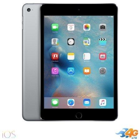 Apple - iPad Mini 4 Wi-Fi +Cell. 128GB Space Grey