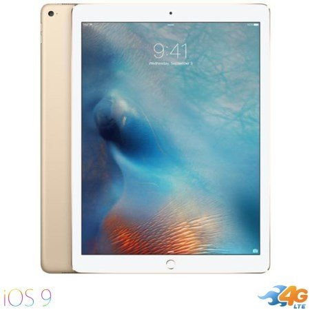 Apple - iPad Pro 12.9 Wi-Fi +Cellular 128GB Gold