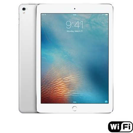 Apple - iPad Pro 9.7 Wi-Fi 256GB Silver MLQ72TY/A