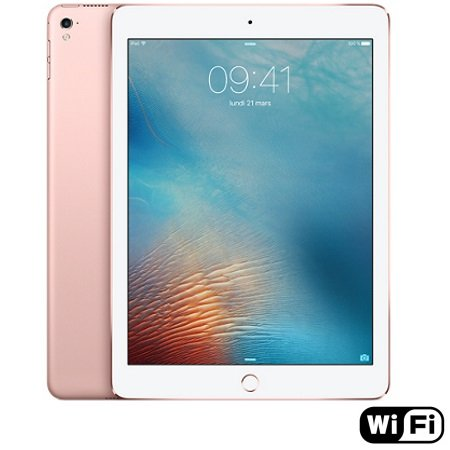 "Apple Display 9.7"" Retina 2048 x 1536px - iPad Pro 9.7 Wi-Fi 32GB Rose Gold"