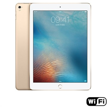 Apple - iPad Pro 9.7  Wi-Fi 128GB Gold