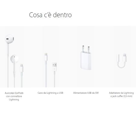 Apple Memoria 128 Gb - iPhone 7 - 128 Gb Silver