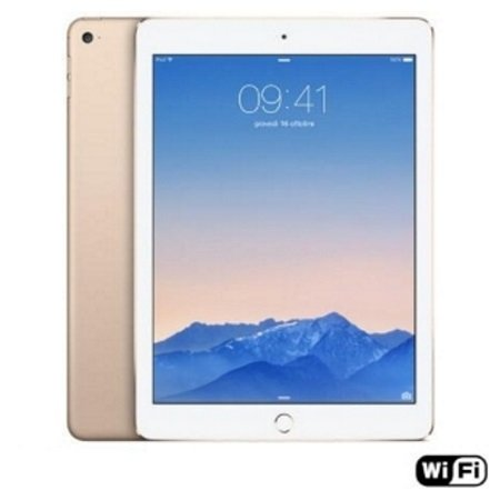 "Apple Display Retina LED Multi-Touch da 9.7"" - iPad Air 2 Gold 32GB Wi-Fi Mnv72ty/a"