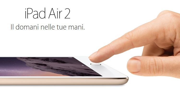 "Apple Display Retina LED Multi-Touch da 9.7"" - iPad Air 2 32GB WiFi"
