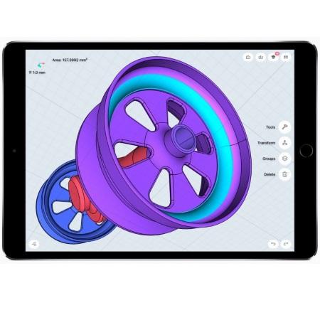 "Apple Display Retina   Multi-Touch LED da 10,5"" - iPad Pro Wi-fi + Cellular 64Gb 10.5""Grigio"