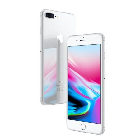 Apple - iPhone 8 Plus 64GB Silver