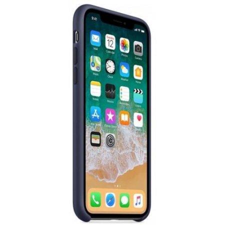 """Apple Cover smartphone fino 5.8 """" - Mqt32zm/a Blu"""
