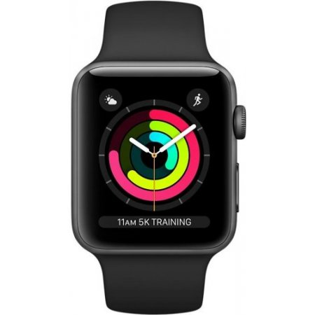 Apple - Watch S3 42mm mql12ql/a Grigio-nero