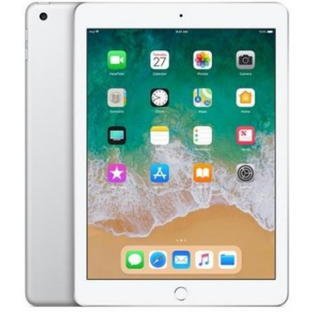 Apple - Ipad 2018 Wi-fi 128gb Mr7k2ty/a Silver