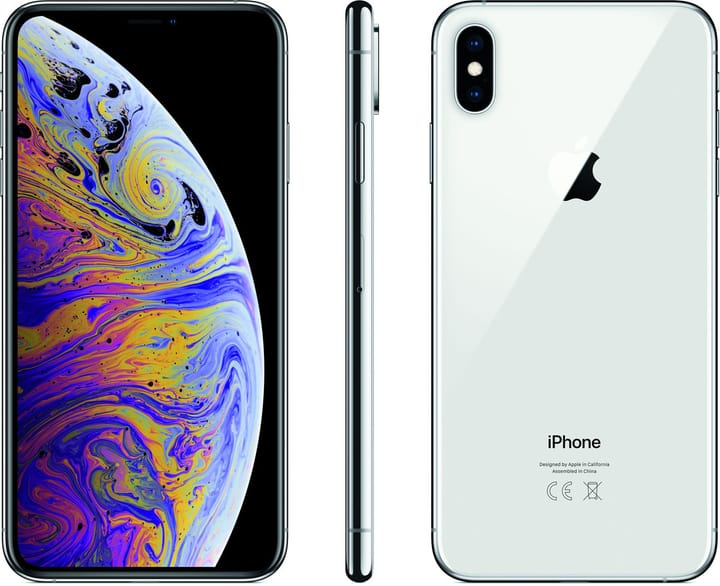 Apple Penta Band / 3G / 4G / Wi-Fi - iPhone XS Max 64GB Silver