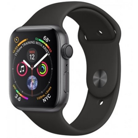 Apple Smartwatch - Apple Watch 4 44mm Gps Mu6d2ty/a Nero