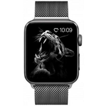 Apple - Apple Watch 4 44mm Gps Alluminio Loop Grigio-nero