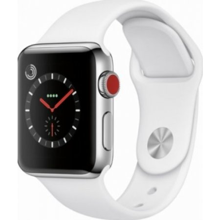 Apple Smartwatch 8gb. - Applewatch 3 38mm Gps Mtey2ql/a Silver-bianco