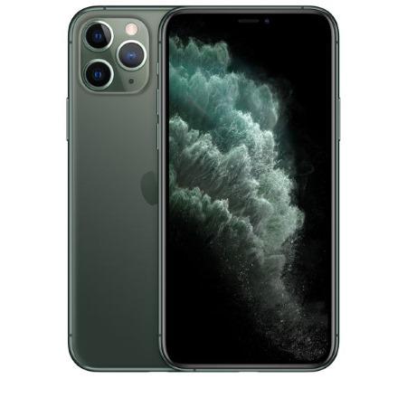 Apple - iPhone 11 Pro 64GB Midnight Green