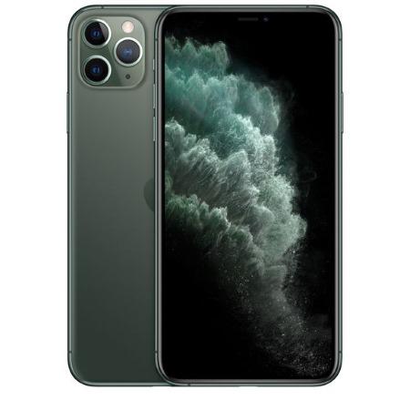 Apple - iPhone 11 Pro Max 64GB Midnight Green