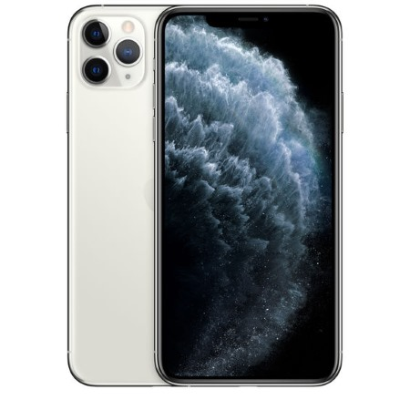 Apple - iPhone 11 Pro Max 512GB Silver