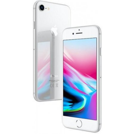 Apple - Iphone 8 128gb Silver