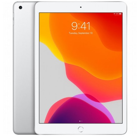 Apple - iPad 10.2 32GB Wi-Fi Silver