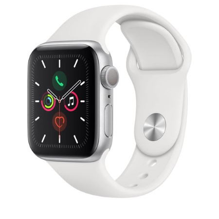 Apple - Watch Series 5 GPS 40mm Silver