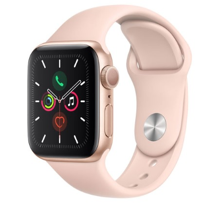 Apple - Watch Series 5 GPS 40mm Gold