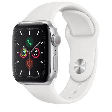Apple - Watch Series 5 GPS 44mm Silver