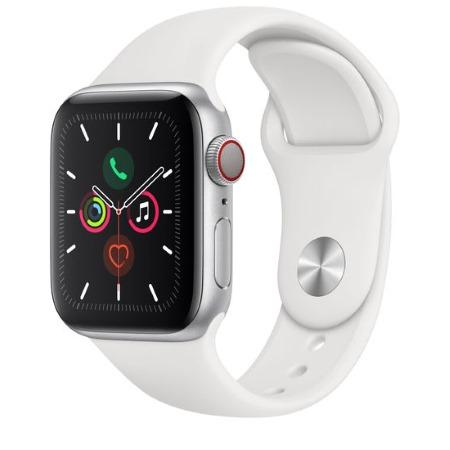 Apple Smartwatch - Watch Series 5 GPS + Cellular 44mm Silver