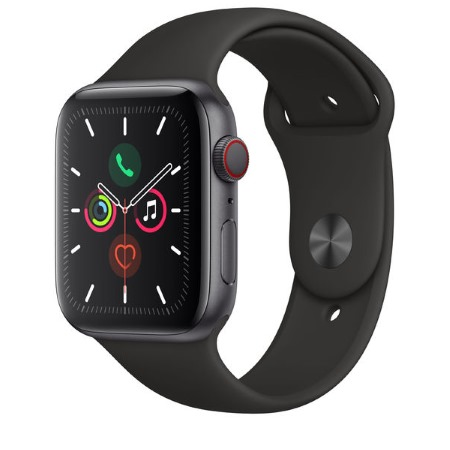 Apple - Watch Series 5 GPS + Cellular 44mm Space Grey