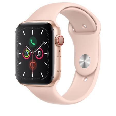 Apple - Watch Series 5 GPS + Cellular 40mm Gold