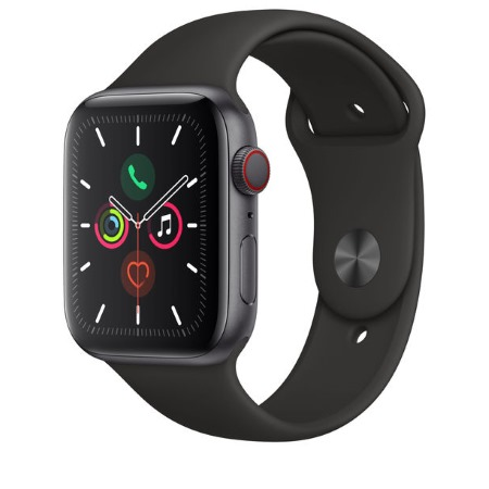 Apple - Watch Series 5 GPS + Cellular 40mm Space Grey