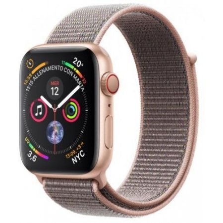 Apple - Apple Watch 4 44mm Alluminio Gps+cellular Mtvx2ty/a Oro-rosa