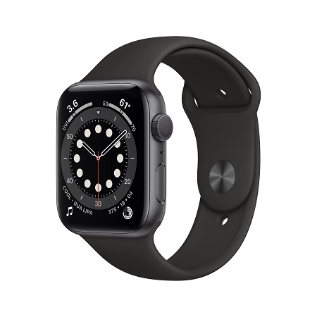 Apple Watch Series 6, 44mm Space Gray