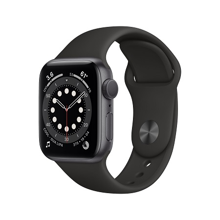 Apple Watch Series 6, 40mm Space Gray
