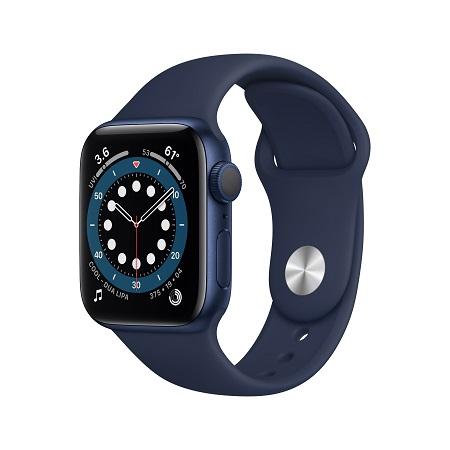 Apple Watch Series 6, 40mm Blue Alum