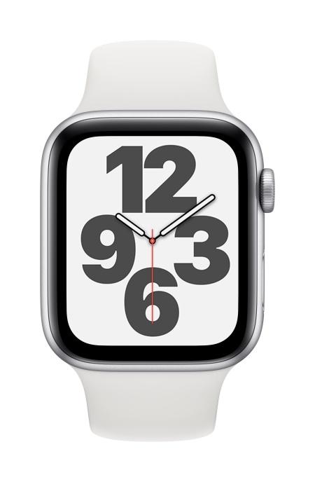 Apple Watch SE, 44mm Silver GPS