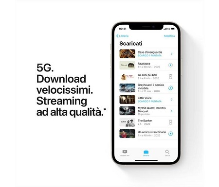 """Apple iPhone12 Mini 64gb White Dimensioni schermo: 13,7 cm (5.4"""")"""