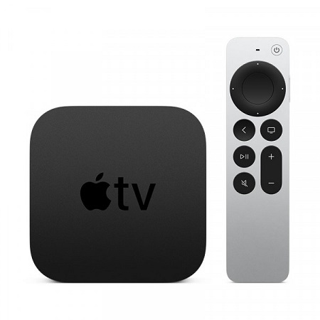 Apple - Mxh02qm/a - Apple TV 4K 64GB 2021