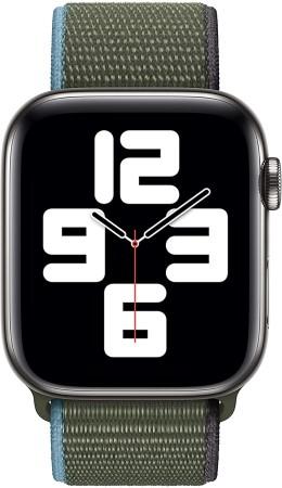 Apple Watch Cinturino Sport Verde 44 mm