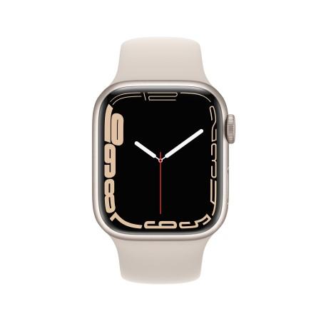 Apple Watch Series 7 45mm Starlight