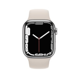 Apple Watch Series 7 GPS+Cellular 45mm Silver