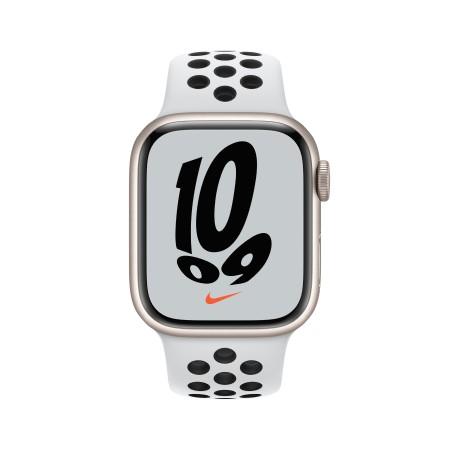 Apple Watch Nike Series 7 45mm Starlight