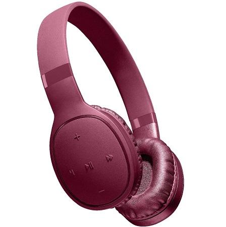 Aql Pump bass: goditi la qualità del suono con alti cristallini e bassi potenti senza distorsione anche al massimo del volume grazie ai driver da 40 mm - Btheadbkosmos2r Kosmos - Universale Cuffie Bluetooth colorate e con tecnologia pump bass