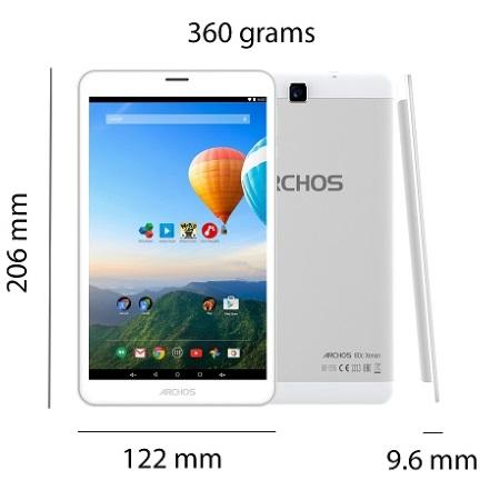 """Archos Display 8 """" IPS 1280 x 800 - Archos Xenon 80c"""