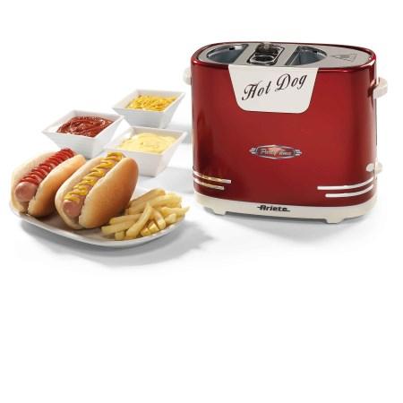Ariete Speciale griglia/ tostiera per Hot Dog - Hotdog Party Time 186
