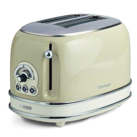 Ariete Toaster vintage a 2 fette - TOSTAPANE VINTAGE 2 FETTE BEIGE - 155