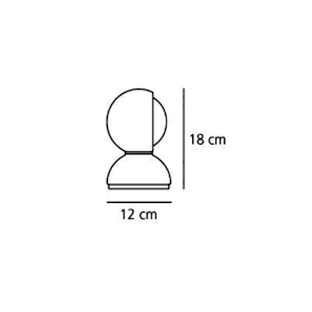 Artemide Lampada da tavolo - Eclisse Arancio 0028050A