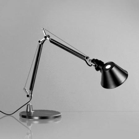 Artemide Struttura a bracci mobili - Lampada da tavolo - Tolomeo Micro Nera - A011830
