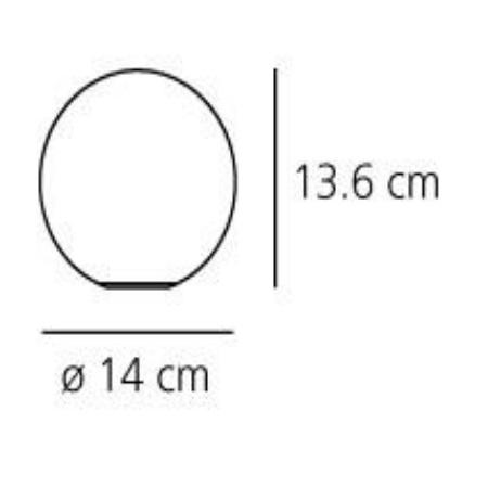 Artemide Lampada tavolo - Dioscuri Tavolo 14